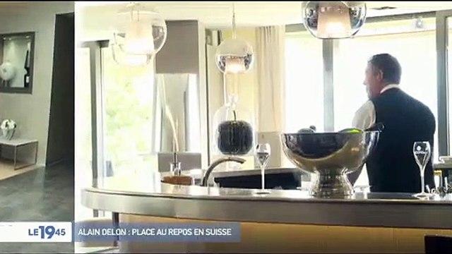 Suisse: A quoi ressemble la clinique du Genolier où l'acteur Alain Delon se repose après son AVC - Visite guidée - VIDEO