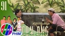 THVL | Con ông Hai Lúa - Tập 91[1]: Ba Lít trổ tài xem nhân tướng học cho bà Hồng
