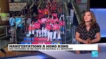 """Manifestations à Hong Kong : """"il y a une volonté de médiatiser leur action"""""""