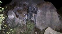 Un automobiliste survit à une chute de 9 m de haut