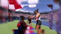 Contrainte d'abandonner, Serena Williams est consolée par son adversaire !