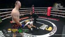 Kaleb Harris met un faceplant KO effrayant à Johnava Vistante en boxe à mains nues