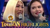 Vice Ganda asks about Bela Padilla's relationship status   Tawag ng Tanghalan