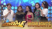 Amy Perez challenges Janine Berdin and Jona  | It's Showtime