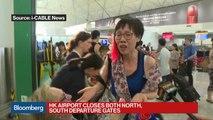 Hong Kong Airport Closes Departure Gates