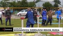 La fine lame cosaque du sabre réunis en Russie