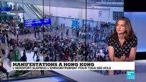 """Manifestations à Hong Kong : """"il y a un point d'interrogation sur la réponse que va apporter Pékin"""""""