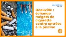 Deauville : échange mégots de cigarette contre entrées à la piscine