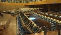 La salle polyvalente du centre PMF - Bercy