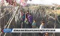 Sumber Air Terbatas, Sejumlah Anak di Sumba Berjalan Puluhan Kilometer Untuk Cari Air