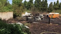 Avignon : plusieurs véhicules incendiés dans une propriété privée