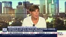 """Concurrence: Feu vert à Salto, le """"Netflix français"""" - 13/08"""
