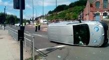 Man hospitalised after crash in Sheffield
