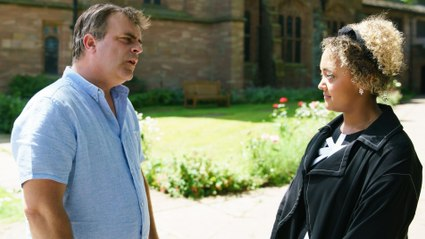 Coronation Street Soap Scoop! Emma discovers Steve is her dad