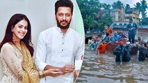 Riteish And Genelia Deshmukh Donates Rs 25 Lakh For Flood Victims