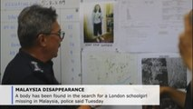 Body found in search for London schoolgirl missing in Malaysia
