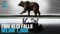 EVENING 5: FBM KLCI falls to an almost four-year low