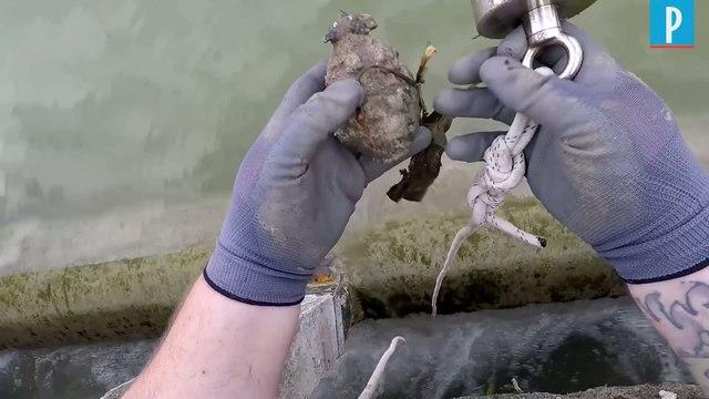 Les dangers de la pêche à l'aimant