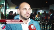 'I've stopped playing, now I want to share memories' - Sneijder on life after football