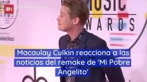 Macaulay Culkin reacciona a las noticias del remake de 'Mi Pobre Angelito'