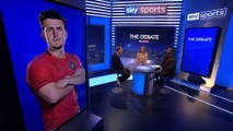 """""""I was out of order!""""   Paul Merson apologises to Harry Maguire after Man United comment  The Debate"""