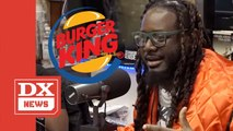 T-Pain Remembers Borrowing Money For Burger King After Blowing $40 Million