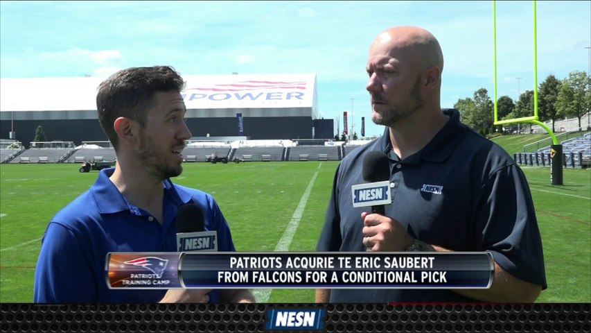 Analyzing The Patriots' Trade For Eric Saubert