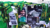 Beijing Guoan fans hold memorial after death of former player Walter Martinez