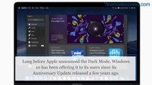 How to use macOS Mojave's Dark Mode on Windows 10