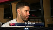 J.D. Martinez On Red Sox's Approach During Recent Slump
