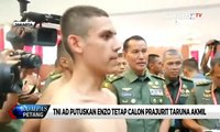 TNI AD Putuskan Enzo Tetap Calon Prajurit Taruna Akmil
