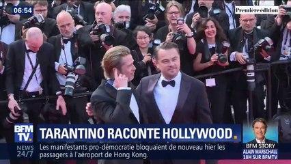 """Once upon a time ...in Hollywood"", le film qui réunit Brad Pitt et Leonardo Dicaprio, sort ce mercredi"