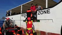 More than 500 migrants remain stranded on ships in the Mediterranean