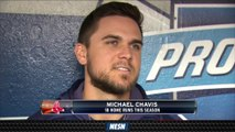 Michael Chavis 'Wanted To Play Through' AC Joint Pain
