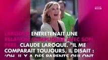 Michèle Laroque : son intuition peu avant la mort de son père