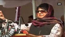 Mehbooba Mufti Bats For Peace In J&K, Says AFSPA Not Permanent