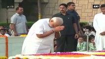 PM Modi Pays Tribute To Mahatma Gandhi On His 147th Birth Anniversary