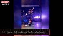 PSG : Neymar s'invite sur la scène d'un festival au Portugal (vidéo)