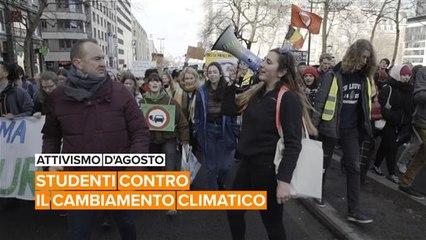 Attivismo d'agosto: l'esercito studentesto di Pili contro il cambiamento climatico