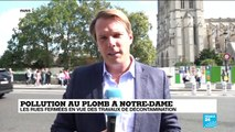 Pollution au plomb à Notre-Dame : début de la décontamination des rues adjacentes
