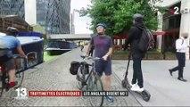 Trottinettes électriques : les Britanniques n'y sont pas favorables