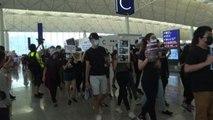 Hong Kong, nuova manifestazione all'aeroporto