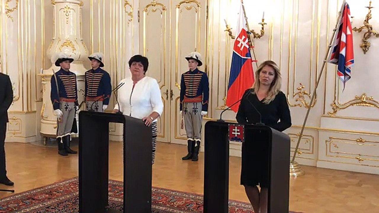 ZÁZNAM: Prezidentka SR Zuzana Čaputová prijala verejnú ochrankyňu práv Máriu Patakyovú