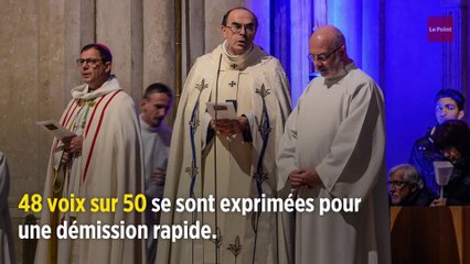 Diocèse de Lyon : un vote massif demande le départ rapide du cardinal Barbarin