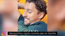 Marquinhos rigole come jaja en famille - Lucas Hernandez, le chanteur du Bayern