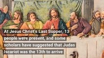 Friday the 13th's biblical origins