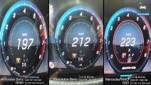 Mercedes G500 vs G500 RaceChip vs G63 AMG 0-200km/h ACCELERATION & DRAGY GPS DATA by AutoTopNL
