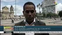 Alejandro Giammattei se convierte en el nuevo presidente de Guatemala
