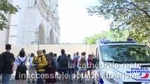 Plomb à Notre-Dame: rues bouclées pour la décontamination