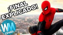 Spider-Man: Lejos de casa - ¡FINAL EXPLICADO!